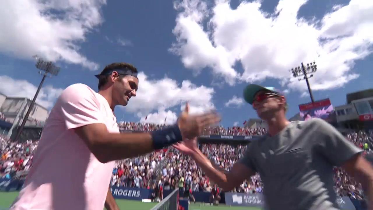 Federer - Polansky: Livehighlights