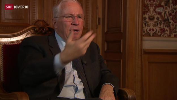 Video «Blocher und sein Reichtum (10vor10, 28.11.2013)» abspielen