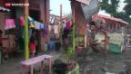 Video «Taifun-Opfer feiern zwischen Trümmern» abspielen