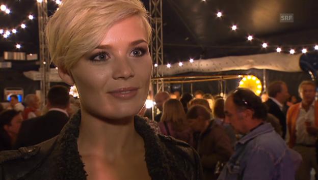 Video «Dominique Rinderknecht über die Miss-Universe-Wahl» abspielen