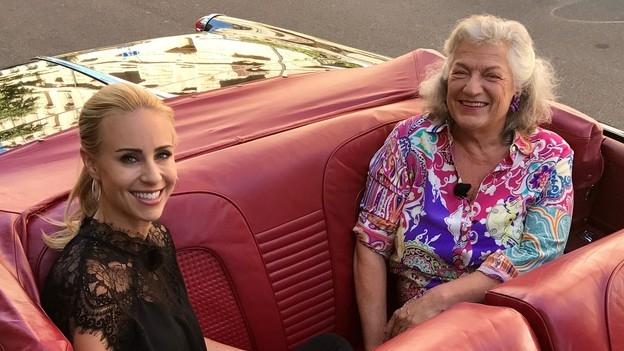 «G&G Weekend spezial» in der Limo mit Ellen Ringier