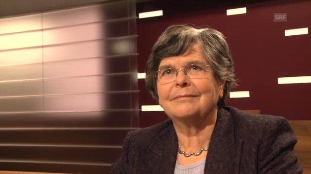 Alt-Bundesrätin Ruth Dreifuss: «Die Frauenquote ist ein wichtiges Instrument – vorübergehend.»