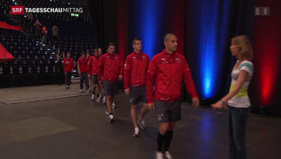 Schweizer Fussball-Helden