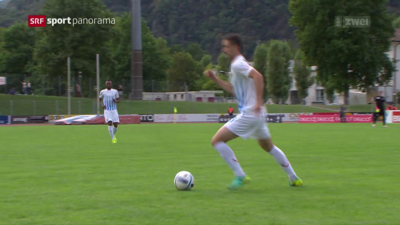 Cupholder FCZ gewinnt in Bellinzona