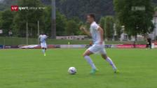 Video «Cupholder FCZ gewinnt in Bellinzona» abspielen