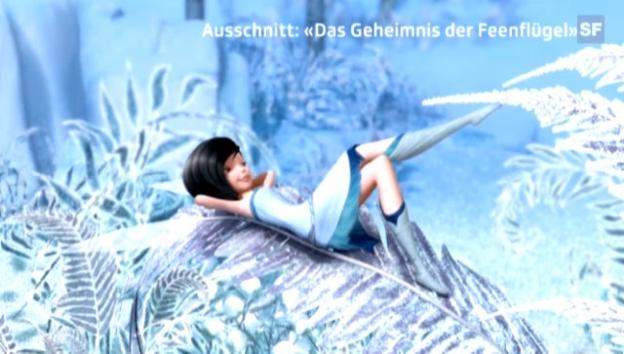 Video «Stefanie Heinzmann als Fee im Film und ihr Statement dazu» abspielen
