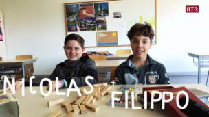Laschar ir video «Nicolas e Filippo»