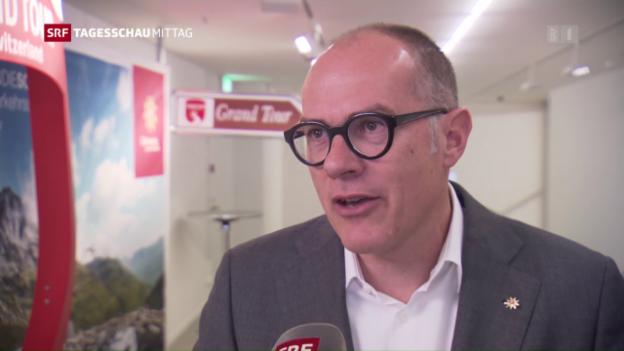 Video «Schweiz-Tourismus-Chef zur Sommersaison 2016» abspielen