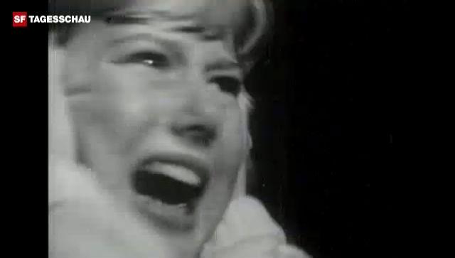 Beatles-Konzertausschnitt und Hysterie in den USA 1964 (Originalton).