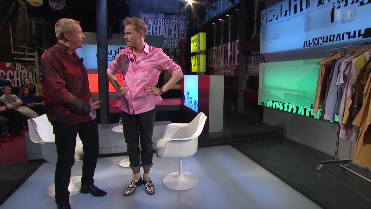 Julian Zigerli das junge Modetalent