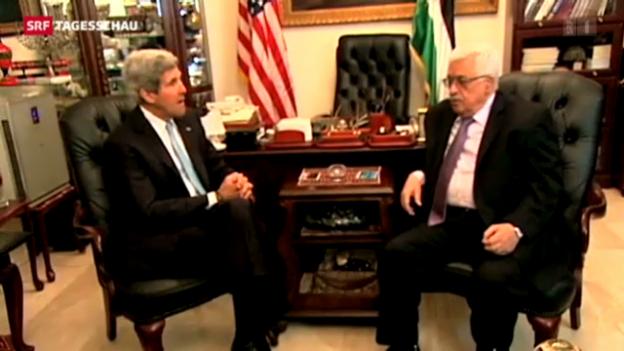 Video «Kerry führt Gespräche in Nahost» abspielen