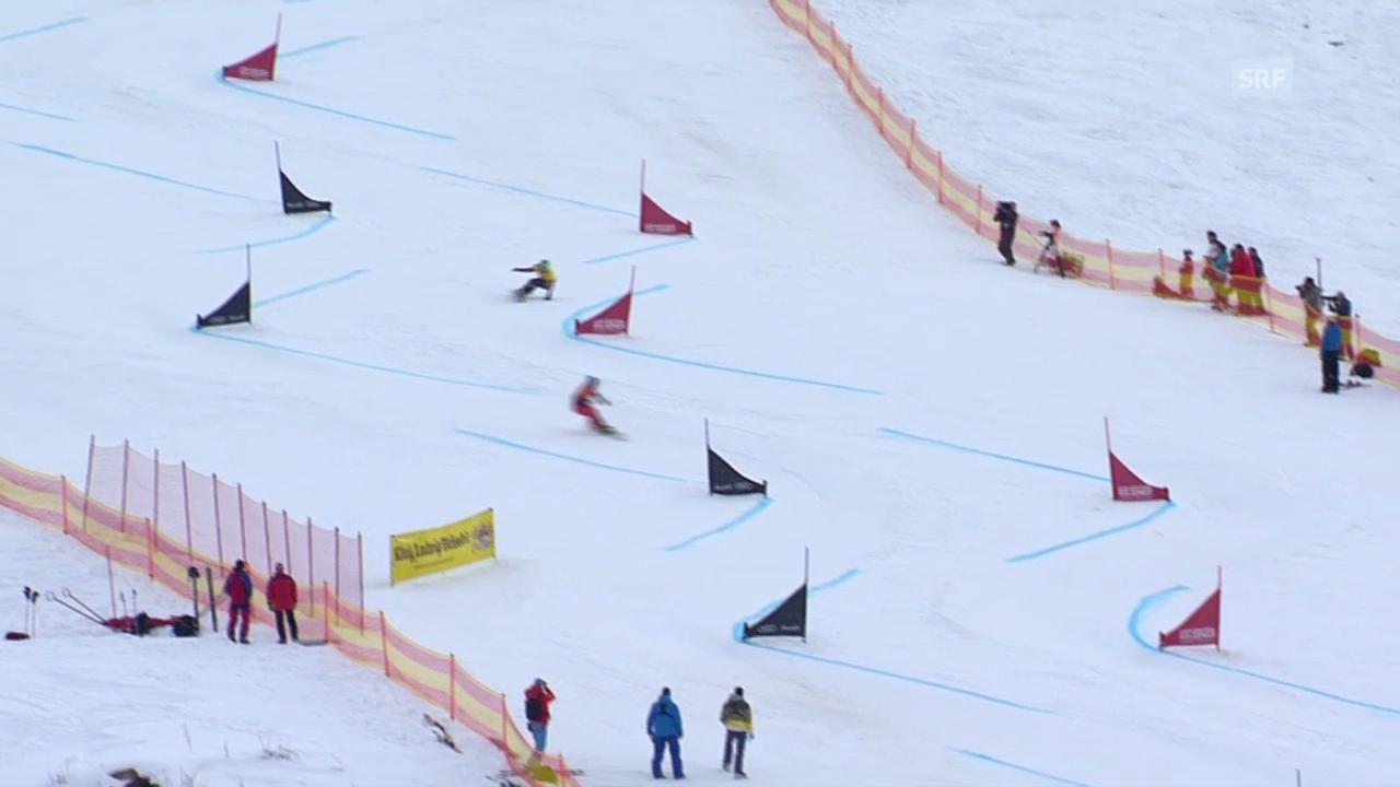 Snowboard: Parallel-Riesenslalom, Finallauf von Kummer