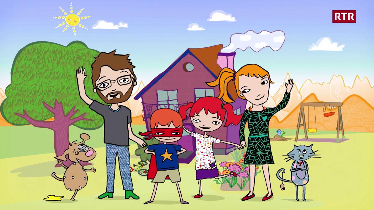 Famiglia Babulin Episoda 1: La famiglia Babulin - Sursilvan