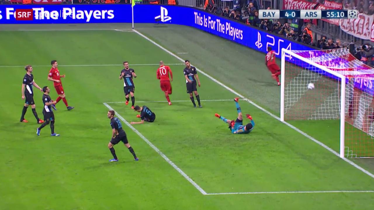 Fussball: Champions League 2015/16, Gruppenphase, 4. Runde, Bayern - Arsenal