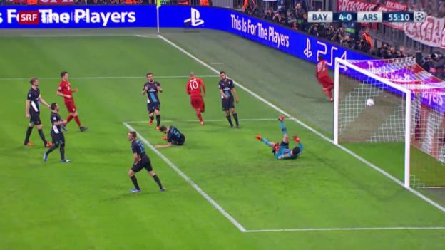 Video «Fussball: Champions League 2015/16, Gruppenphase, 4. Runde, Bayern - Arsenal» abspielen