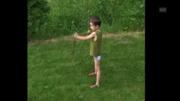 Video «Kleine Krieger – Was Kinder an Waffen fasziniert» abspielen