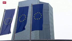 Video «Europäische Zentralbank erhöht Druck auf Griechenland» abspielen