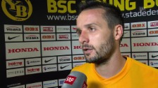 Video «Fussball: Champions League, YB-Monac, Interview mit Raphael Nuzzolo» abspielen