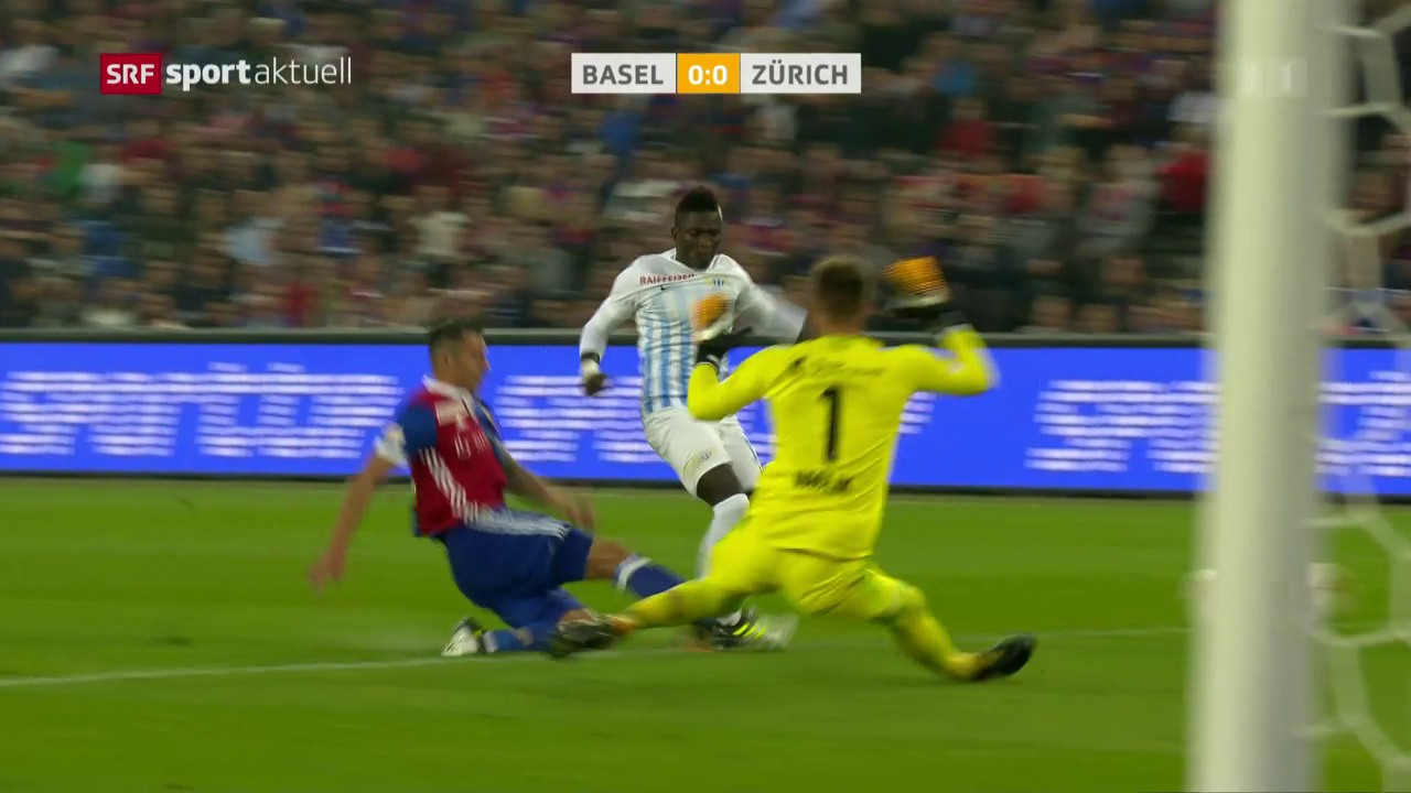 Moussa Koné verletzt sich in Basel