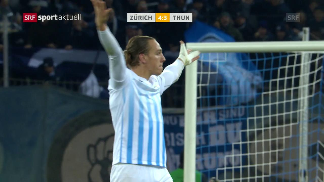 Der FCZ dreht dramatisches Spiel gegen Thun