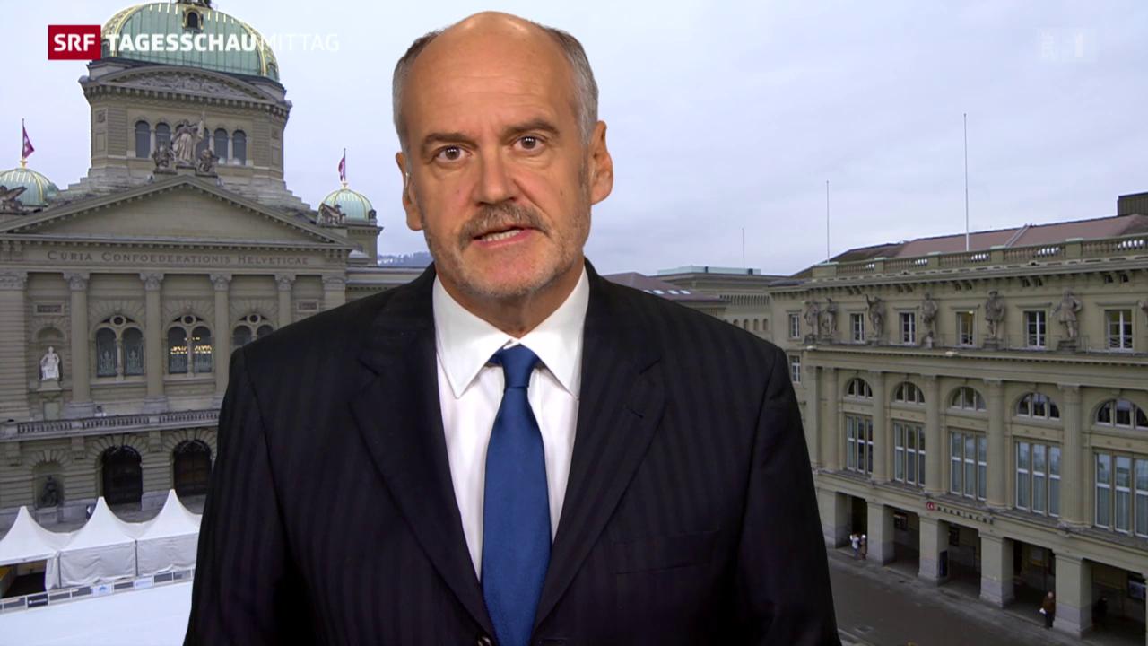 Hanspeter Forster zu Pfister als CVP-Präsidenten