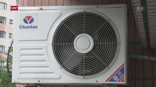 Video «Wirtschaftlichkeit von Klimaanlagen umstritten» abspielen