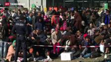 Video «Schwierige Flüchtlings-Diskussion» abspielen