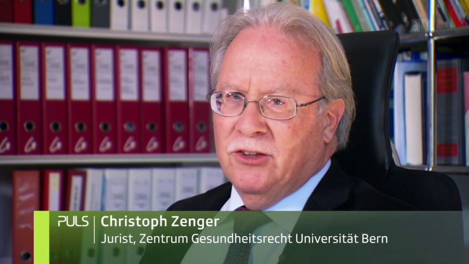 Christoph Zenger erklärt, wieso er das Plakat des USZ als fragwürdig einstuft.