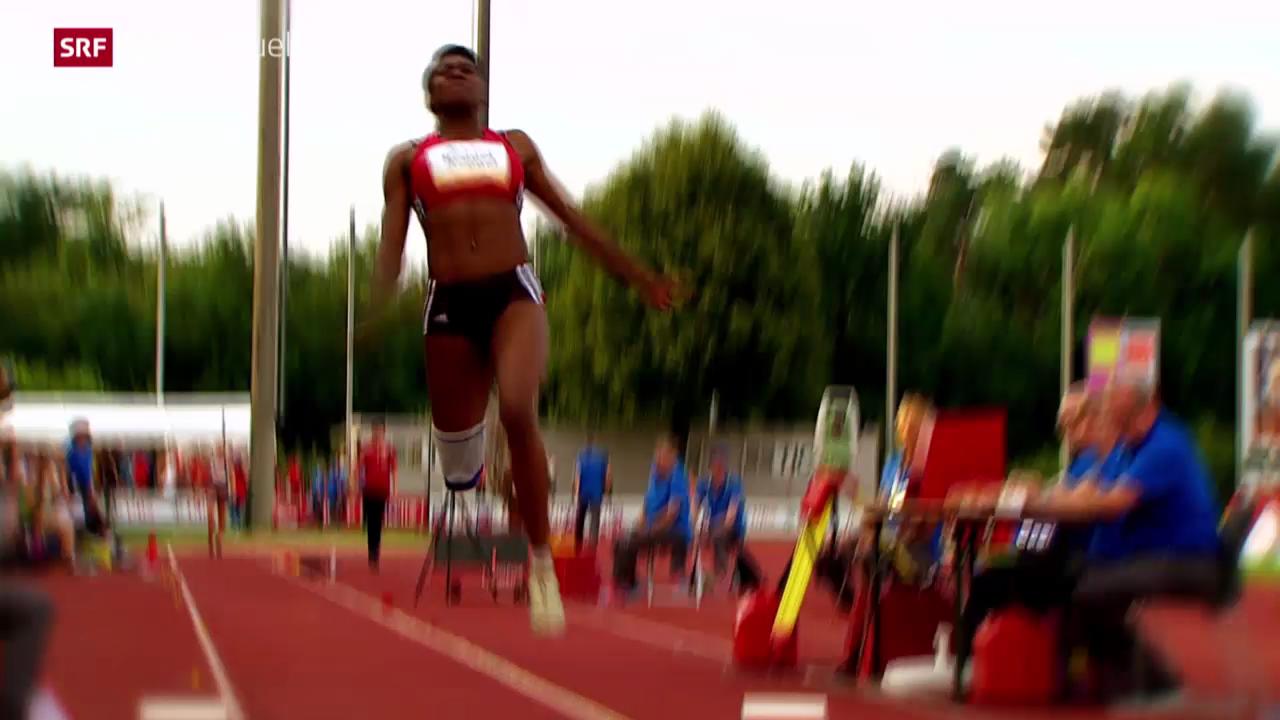 Leichtathletik: Siebenkämpferin Valerie Reggel im Porträt