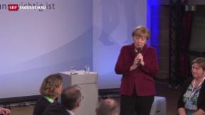 Video «Merkels Beliebtheit sinkt» abspielen