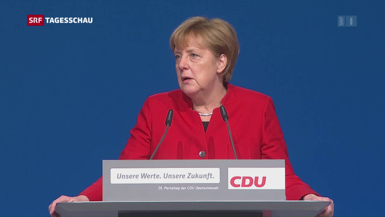 Angela Merkel bestätigt