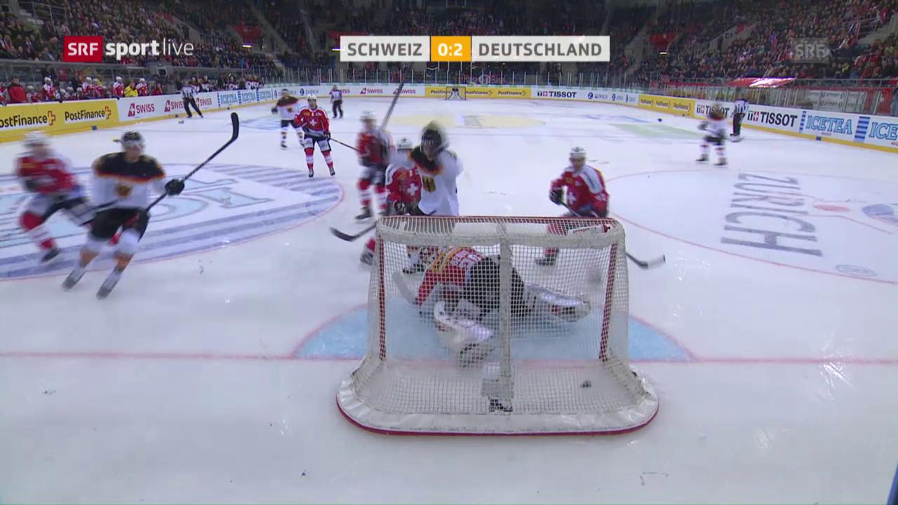 Schlaf der Schweizer Defensive