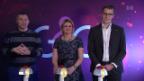 Video «Ein Autor, eine Sängerin und ein Politiker kämpfen um die Krone» abspielen