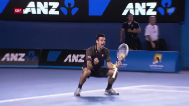 Video «Tennis: Final Djokovic-Murray («sportaktuell»)» abspielen