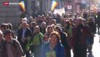 Video «Katholiken machen mobil gegen Bischof Huonder» abspielen