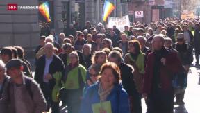 Video «Katholiken machen mobil gegen Bischof Huonder » abspielen