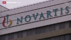 Video «Novartis kündigt höhere Dividenden an» abspielen