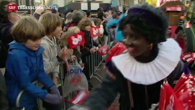 Video «Debatte um Schmutzli in den Niederlanden» abspielen