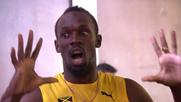 Video «Jamaikas Männerstaffel zieht in den Final ein» abspielen