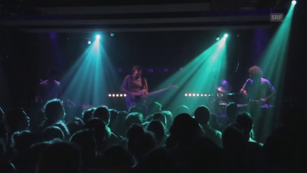 Video «Jojo Mayer & Nerve – Live at Hinterhof, Basel» abspielen