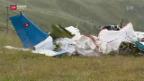 Video «Drei Tote bei Absturz eines Kleinflugzeugs» abspielen
