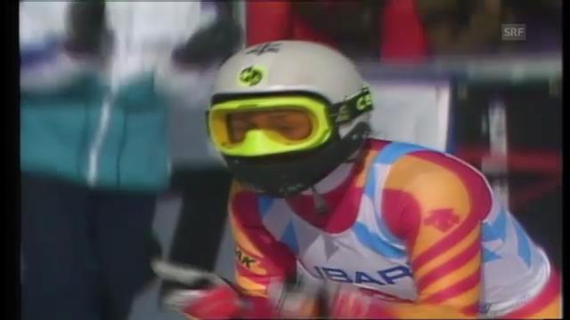 Ski-WM 1989: Maria Walliser fährt zu Gold
