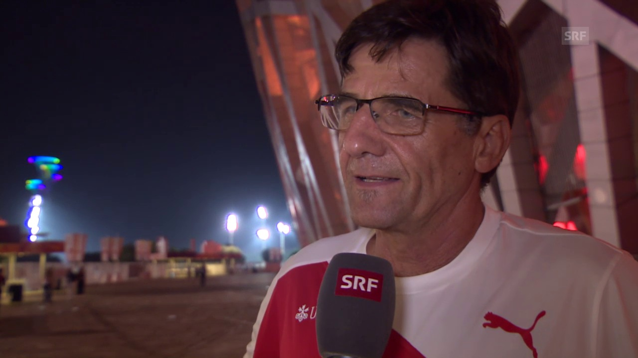 Leichtathletik: WM Peking, Interview Peter Haas