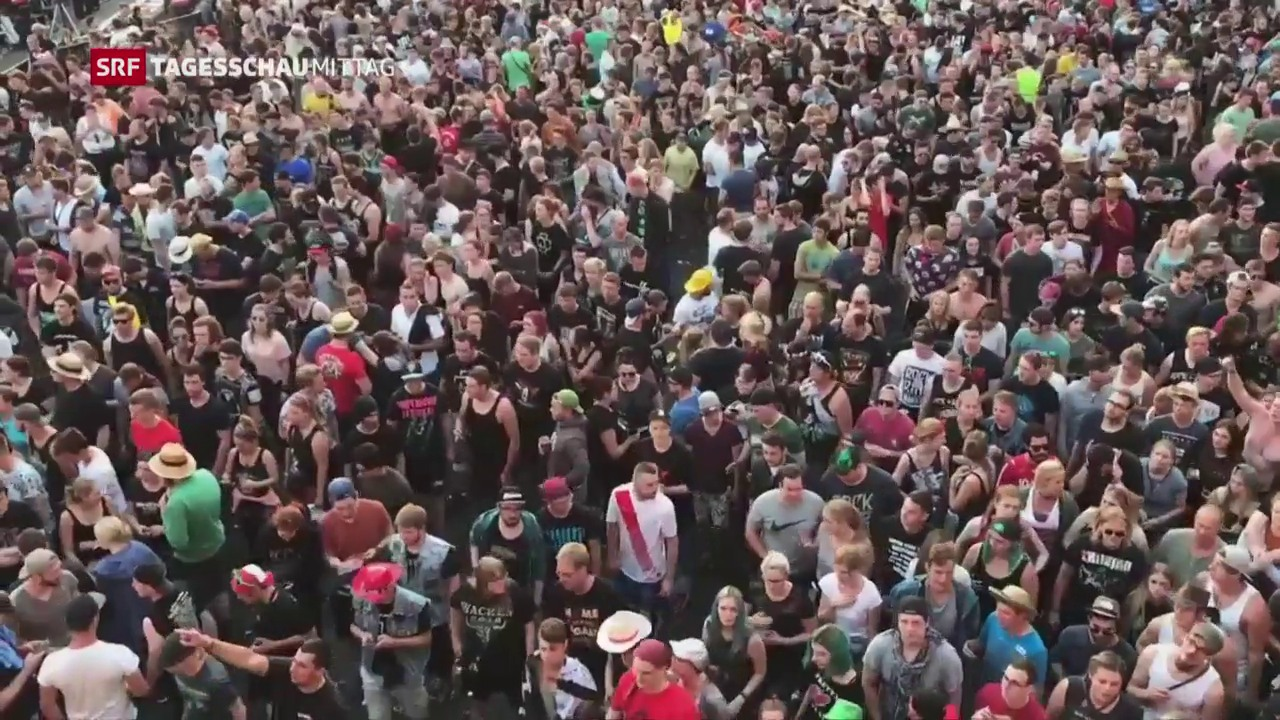 Die «Rock am Ring»-Fans können weiterfeiern