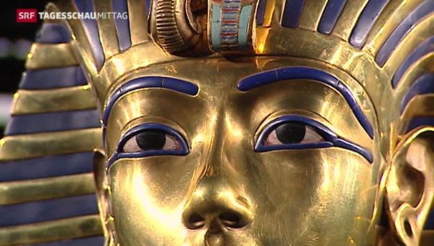 Video «Tutanchamuns Schätze in Genf» abspielen