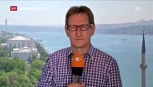 Video «ZDF-Korrespondent zu Verschwörungstheorien des Putschversuchs» abspielen