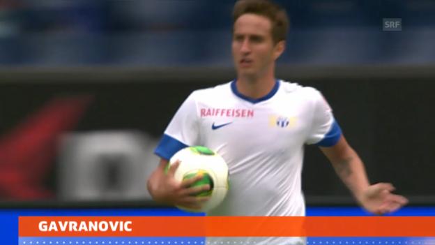 Video «Fussball: Gavranovic suspendiert» abspielen