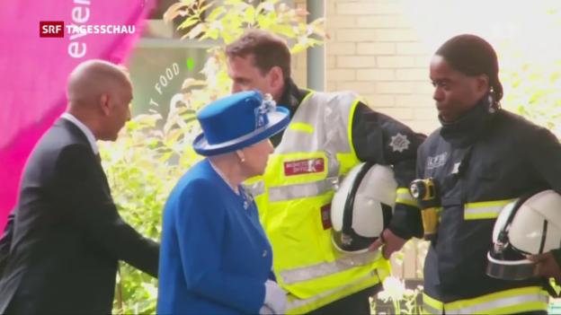 Video «Hochhausbrand London: Grosse Anteilnahme» abspielen