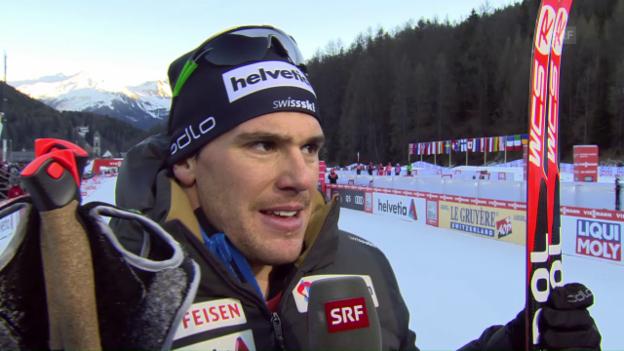 Video «Hediger: «Musste immer wieder eine Lücke zutun»» abspielen