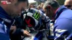 Video «Motorrad: Der waghalsige Jorge Lorenzo» abspielen